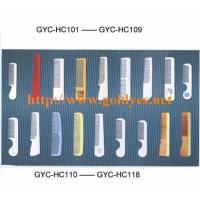 TRAVELLING DISPOSABLE hair comb