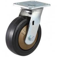 250~400kg High Class Nylon Core Rubber Wheel Caster